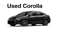 Used Corolla Specials