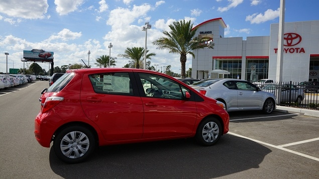 Orlando Toyota Yaris for sale