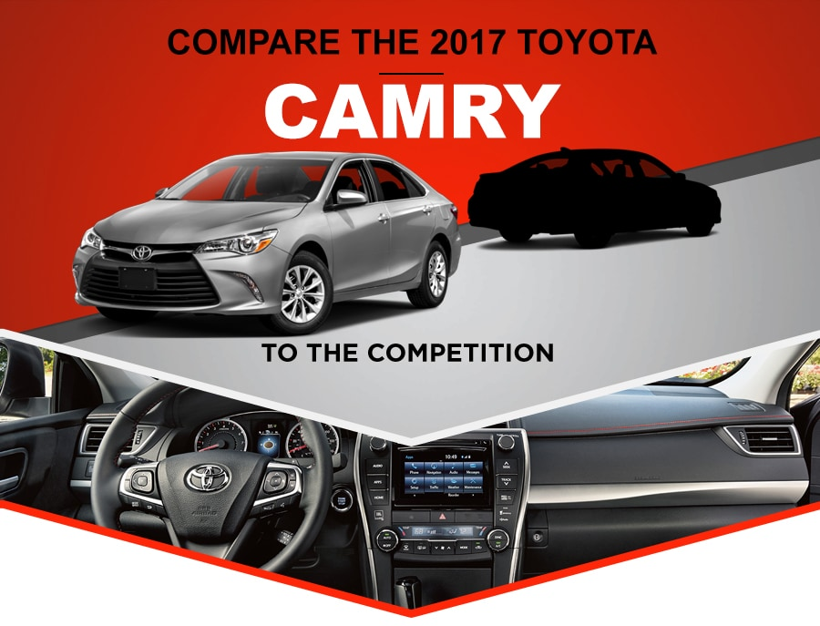 Compare Toyota to the Competition header