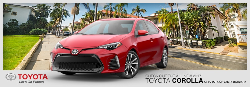 The New 2017 Toyota Corolla