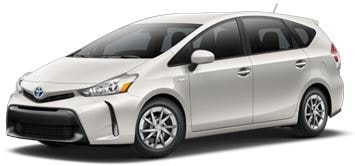 Toyota Prius v lease offer at Toyota of Santa Barbara