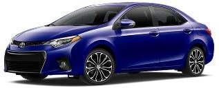 0% APR on a new 2017 Toyota Corolla