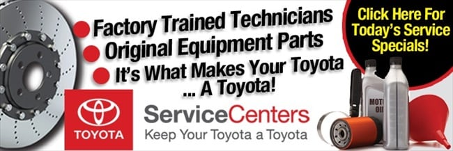 Book your vehicle's service at our Toyota of Santa Barbara Service Center located in Goleta, CA