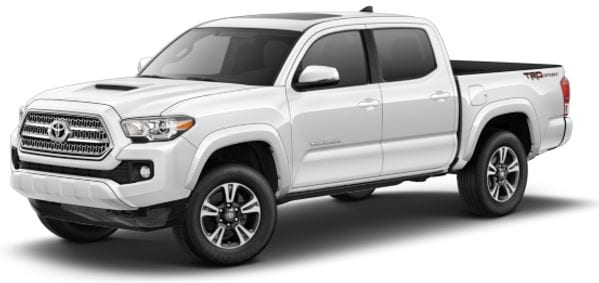 Toyota Tacoma lease offer at Toyota of Santa Barbara