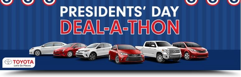 Toyota Presidents Day Sale Santa Barbara CA