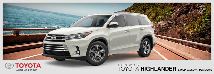 The New 2017 Toyota Highlander