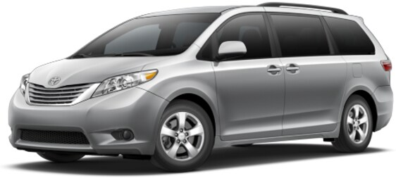 Toyota Sienna lease offer at Toyota of Santa Barbara
