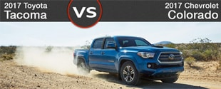New Toyota Tacoma vs New Chevy Colorado