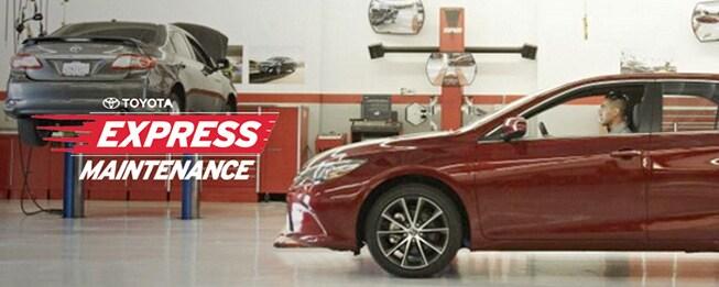 Toyota Express Maintenance Program in Sylacauga AL