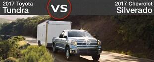 2017 Chevrolet Silverado 1500 vs. 2017 Toyota Tundra | Sylacauga, AL