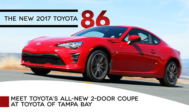 New Toyota 86 for sale near Brandon at Toyota of Tampa Bay, FL