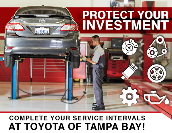 Toyota Corolla Maintenance Required Light >> Toyota Toyota Recommended Service & Maintenance Schedule | Toyota of Tampa Bay