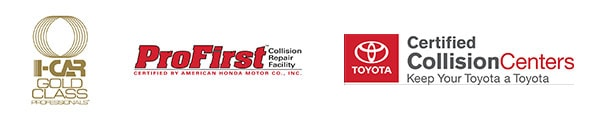 I-Car Gold Class - Pro Firt Collision Repair Facility - Toyota Certified Collision Centers