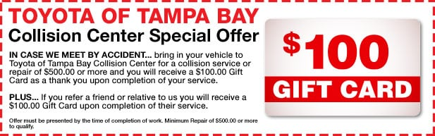Collision Center Special Offer