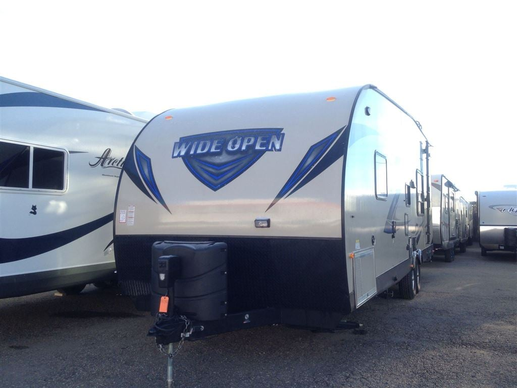 2015 WIDE OPEN Toy Hauler 290KB