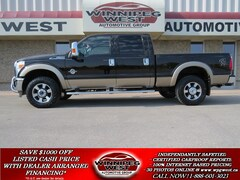 2014 Ford F-350 LARIAT POWERSTROKE, LOADED,LOW KMS LOCAL TRADE! Truck Crew Cab