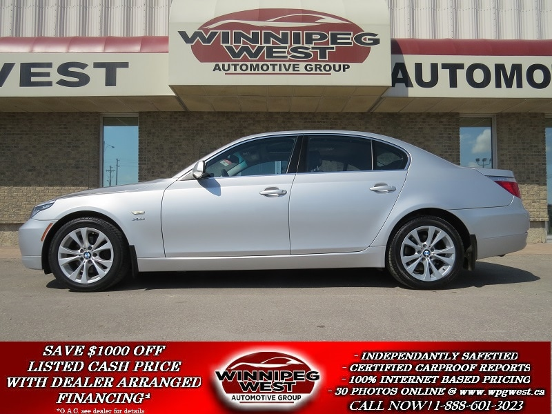 2009 BMW 535i xDrive TWIN TURBO, ALL WHEEL DRIVE, BLUETOOTH, PARK ASSIS Sedan