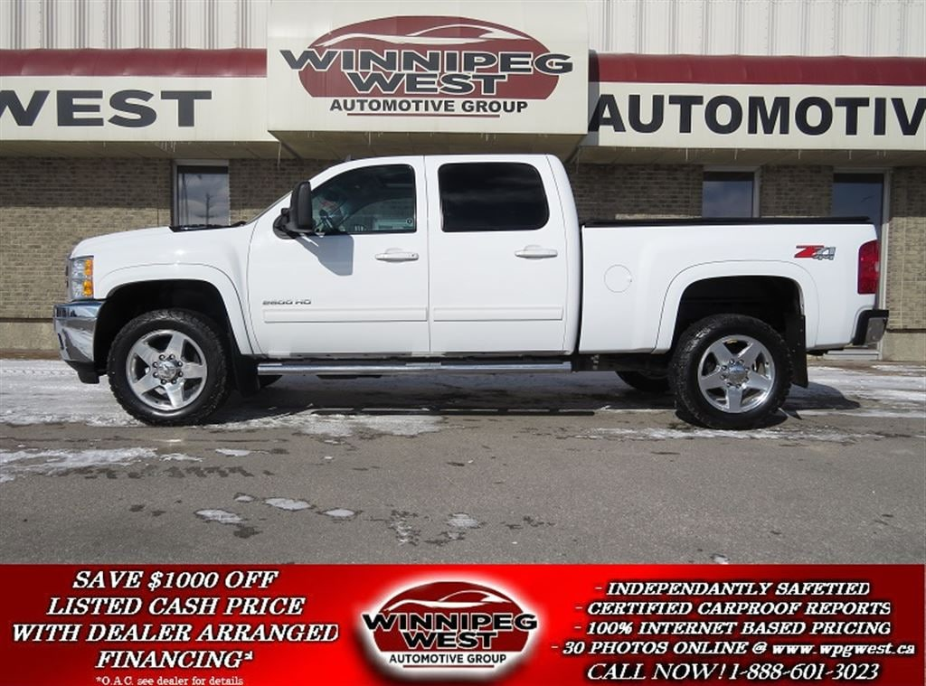 2014 Chevrolet Silverado 2500HD LTZ EDITION 4X4, DURAMAX DIESEL, LOADED LOCAL 1 OW Truck