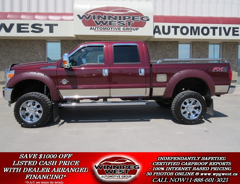 2012 Ford F-350 **MAXIMUM AGRESSION** LIFTED FX4 OFF ROAD 4x4, 6.7 Truck Crew Cab