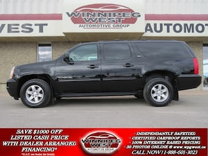 2012 GMC Yukon XL SLT 8 PASS 4X4, LEATHER, ROOF, DVD, ROOF & MORE!