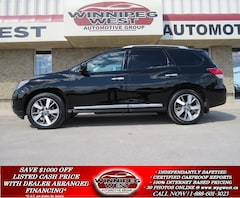 2013 Nissan Pathfinder PLATINUM 7 PASS, PAN ROOF, NAV, MB SUV, 1 OWNER! SUV