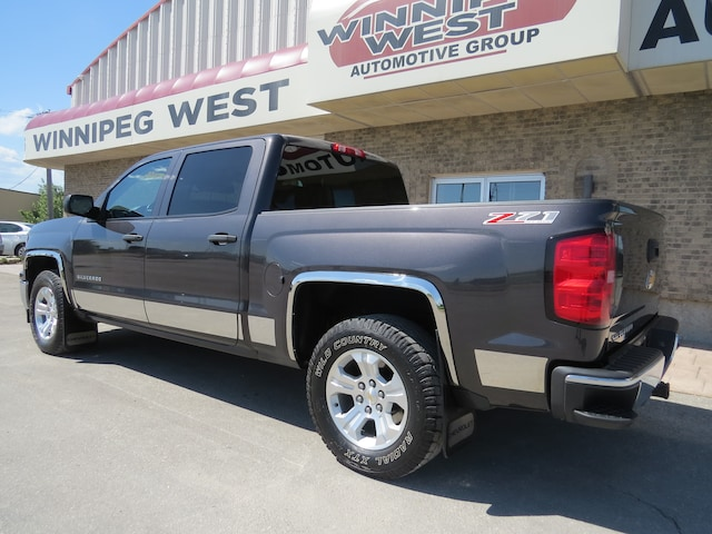 2014 chevrolet silverado 1500 crew cab 2lt z71 off road 4x4 loaded leather
