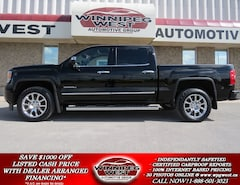 2014 GMC Sierra 1500 DENALI, BLACK & CHROME, HARD LOADED, 1 LOCAL OWNE Truck