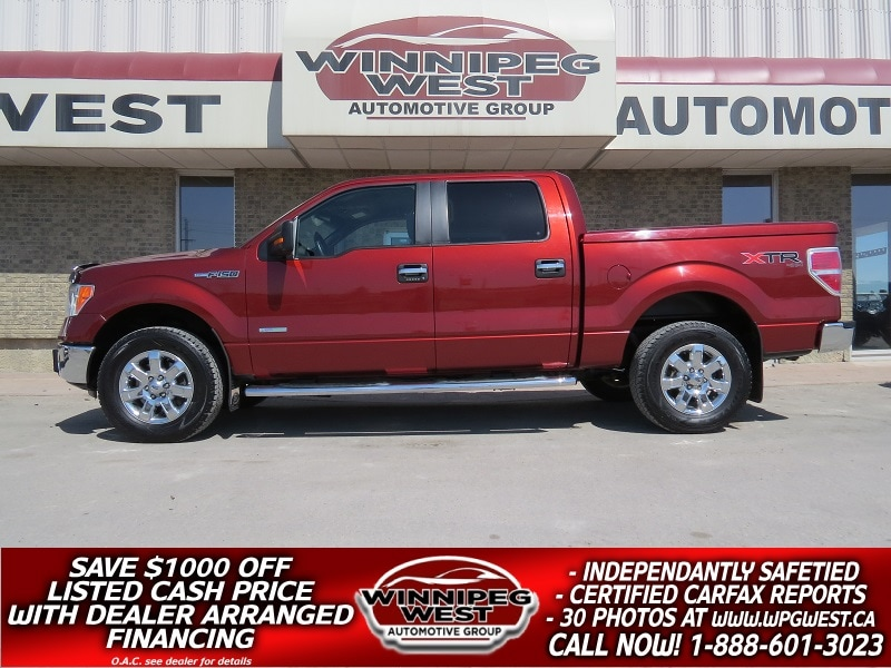 Carfax Used Trucks >> Used 4x4 Trucks F150 4x4 Dodge Winnipeg West Auto Group