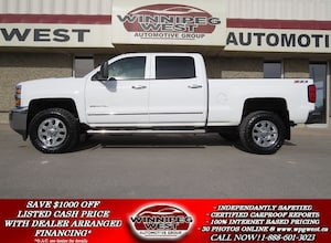 2015 Chevrolet Silverado 2500HD LTZ Z71 4X4 CREW, DURAMAX, LEATHER,ROOF,NAV,CLEAN!