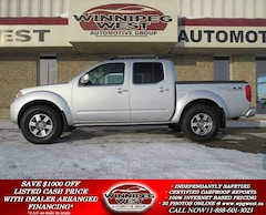 2012 Nissan Frontier PRO-4X CREW 4X4, HEATED LEATHER, SUNROOF & MORE! Truck Crew Cab