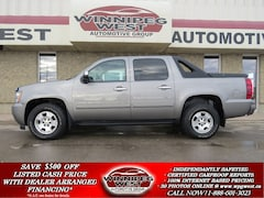 2007 Chevrolet Avalanche 1500 LT CREW 4X4, LOADED,FLAWLESS RURAL MB TRADE, NICE! Truck Crew Cab