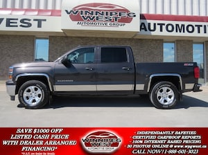 2014 Chevrolet Silverado 1500 CREW CAB 2LT Z71 OFF ROAD 4X4, LOADED, LEATHER, CA