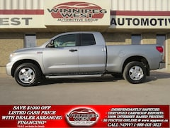 2008 Toyota Tundra SR5 5.7L V8 4X4, LOADED, TOW PKG, LOCAL TRADE!! Truck Double Cab