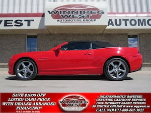 2014 Chevrolet Camaro 2LT RS, LEATHER, HUD, FLAWLESS!