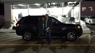 Photo Of Customer With Newly Purchased Jeep Vehicle  - Troiano Chrysler Jeep Dodge