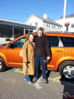Photo Of Proud New Owners Of Dodge Vehicle - Troiano Chrysler Jeep Dodge