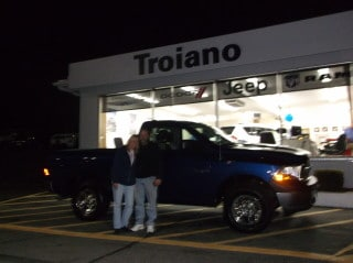 Photo Of Customers With Brand New Ram Truck - Troiano Chrysler Jeep Dodge