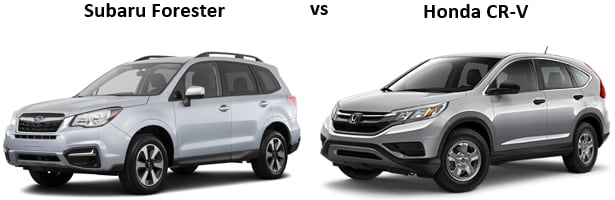 Subaru Forester vs Honda CR-V in Tucson, AZ