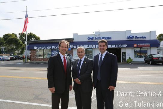 Tufankjian Family Owners Outside of Hyundai of Plymouth
