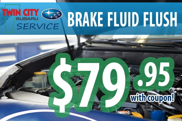 Subaru Brake Fluid Flush Coupon