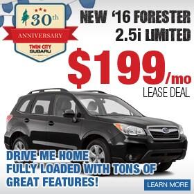 Subaru Forester Lease Deal
