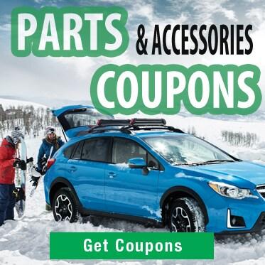 Subaru Parts Coupons