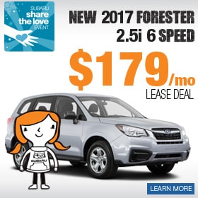 2017 Forester Lease Deal