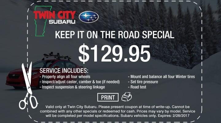 Subaru Alignment Coupon