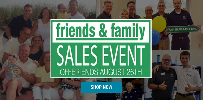 Twin City  Subaru Friends and Family Sales Event