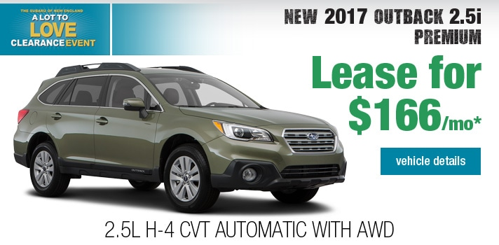 New Subaru Outback Deal