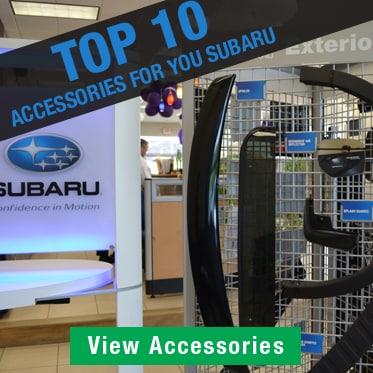Top 10 Subaru Accessories
