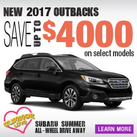 Save up to $4000 on select Outbacks