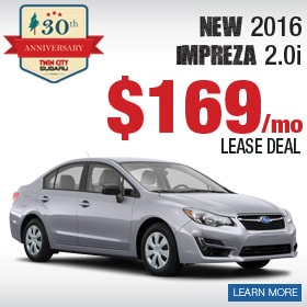Subaru Impreza Lease Deal