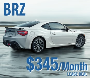 2017 Subaru BRZ Lease Deal